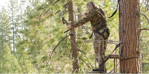 3 Treestand Safety Tips Every Hunter Should Follow, Garfield, Michigan