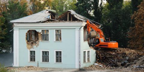 4 Steps Involved in Building Demolition, Sunman, Indiana
