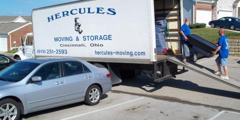 Hercules Moving & Storage Will Store Your Belongings During Your Move, Cincinnati, Ohio