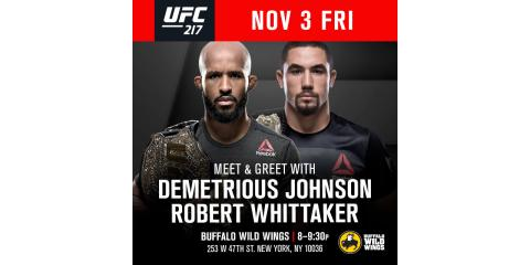 UFC Meet & Greet at Buffalo Wild Wings Times Square!, Manhattan, New York