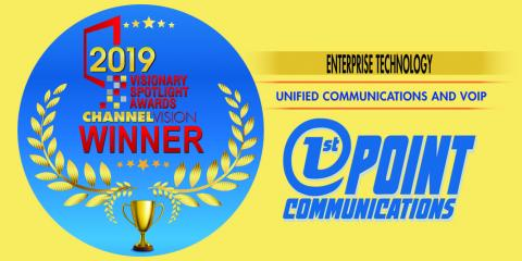 Recognized for Outstanding Unified Communications Product by ChannelVision Magazine, Piscataway, New Jersey