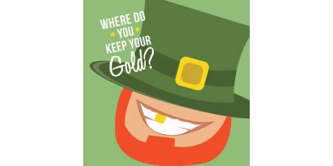 How to Avoid Green Teeth on St. Patrick's Day , Manhattan, New York
