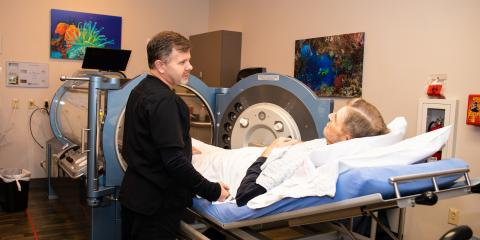 Ever wondered how hyperbaric oxygen (HBO) therapy heals wounds?, Gatesville, Texas