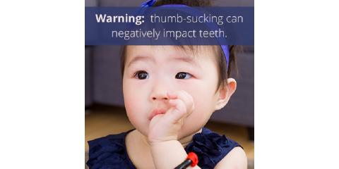 How can thumb sucking affect my child's teeth?, Lewisburg, Pennsylvania
