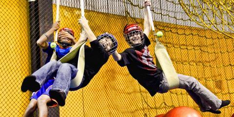 Boys Birthday Parties Ninja Warrior Style at Denvers XArena X