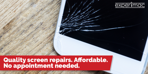 $15 off any screen repair at Experimac of Greenville, Greenville, North Carolina