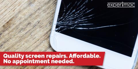$15 off any screen repair at Experimac of Greenville, Greenville, North Carolina