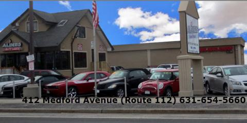 Alines Auto Group, Car Dealership, Shopping, Patchogue, New York