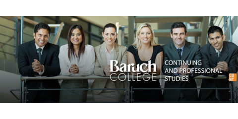Baruch College | Continuing & Professional Studies, Adult and Continuing Education, Services, New York, New York