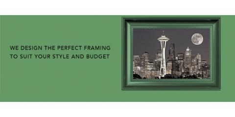Seattle Custom Framing, Picture Framing, Services, Seattle, Washington