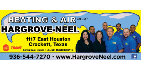 Hargrove-Neel, Inc., HVAC Services, Services, Crockett, Texas