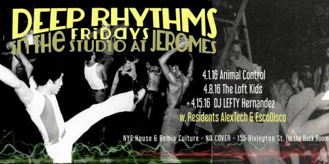 DJ LEFTY HERNANDEZ SPINS DEEP RHYTHMS AT JEROME'S!!!, Hempstead, New York