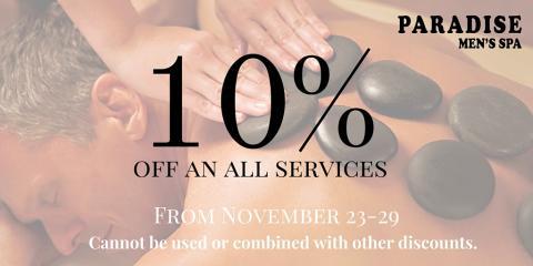 10% Off All Services, Manhattan, New York