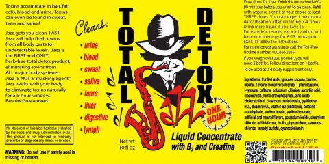 """How to Detox your Body with """"JAZZ TOTAL DETOX"""", Hobbs, New Mexico"""