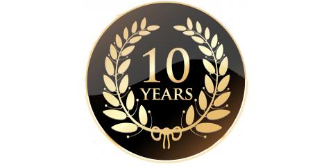 Happy 10 Year Anniversary to Perry Grosz , Rapid City, South Dakota