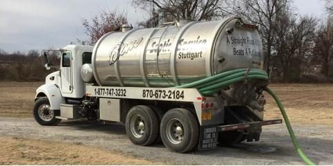 3 Important Benefits of Regular Septic Tank Cleaning, Stuttgart, Arkansas