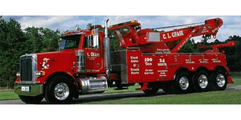 C. L. Chase 24 Hour Towing & Recovery, Auto Towing, Services, Tomah, Wisconsin