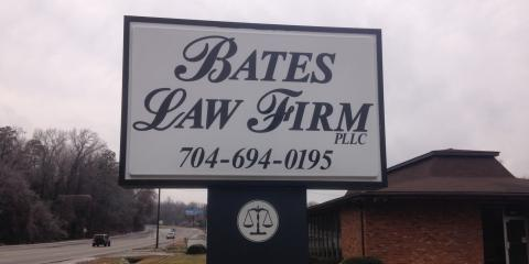 Bates Law Firm PLLC, Attorneys, Services, Wadesboro, North Carolina