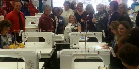Luke's Sewing Centers Sell the Best Embroidery Machines in the Greater Cincinnati Area, Covington, Kentucky