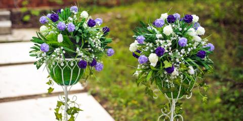 3 Fun Floral Wedding Centerpieces to Try at Your Wedding , High Point, North Carolina