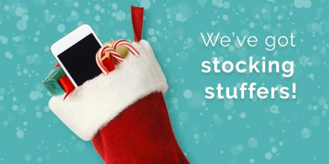 Stocking Stuffers for your Apple Devices - Get them at Experimax Klein, Northwest Harris, Texas