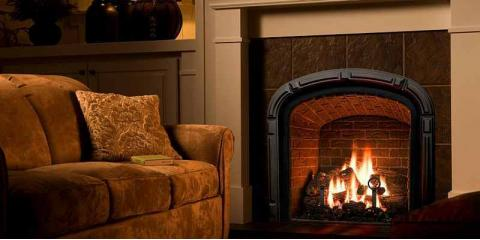 What You Should Know About Gas vs. Wood Burning Fireplaces, Penfield, New York