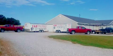 C & B Gutter Solutions & Vinyl Siding, Gutter Repair and Replacement, Services, Sedalia, Missouri