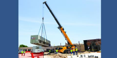 Heavy Lifting Going on at Coryell Health, Gatesville, Texas