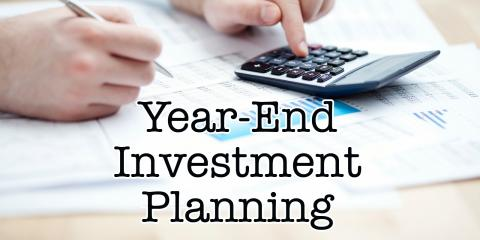 If you invest in publicly traded securities, here are a couple of tax-saving possibilities you shouldn't forget to consider before year-end., Chandler, Arizona