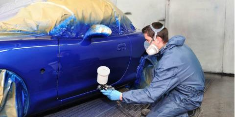 Been in an accident 3 reasons to consider a complete for Best auto body paint shop