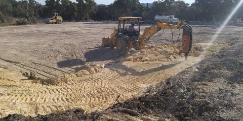Saur Construction, Inc., Excavation Contractors, Services, Comfort, Texas