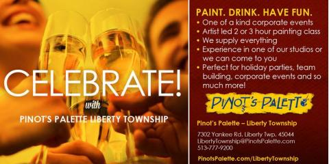 Pinot's Palette Wine & Painting Deals For Cyber Monday, Middletown, Ohio