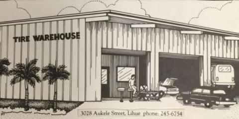 Tire Warehouse Kauai, Tires, Services, Lihue, Hawaii