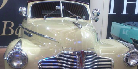 Snap a Selfie With a Classic Car Collection at The Mall at Bay Plaza, Bronx, New York