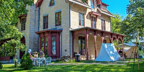 A Brief Guide to the History of Hastings' Historic LeDuc Estate, Hastings, Minnesota