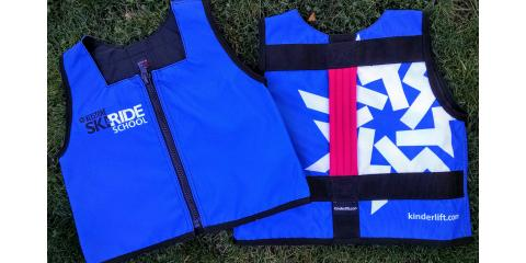 Keystone Ski Resort Open....and now using Kinderlift vests for their ski & ride school, Denver, Colorado