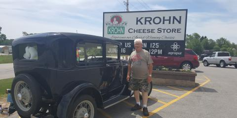 What a special treat for Krohn Cheese Stores 125 Birthday!, Luxemburg, Wisconsin