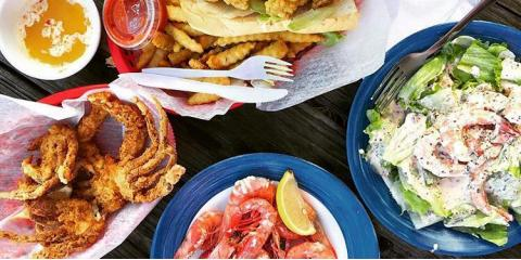 Treat Yourself to Fresh Seafood Dishes at Gulf Shores' Best Beachside Restaurant, Gulf Shores, Alabama