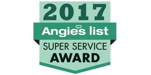 Precision Door Service Earns Esteemed 2017 Angie's List Super Service Award, Fairfield, Ohio