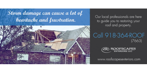 Roofscapes Exteriors, Re-roofing, Services, Bixby, Oklahoma