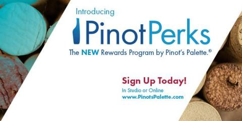New Paint and Sip Rewards Program, Middletown, Ohio