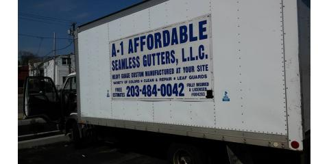 A-1 Affordable Seamless Gutters and Home Improvement, Gutter Installations, Services, North Branford, Connecticut