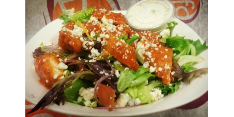 Have you tried one of our salads?!  Wait, did you know that we served salads?!, La Crosse, Wisconsin