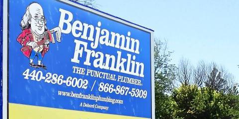 Benjamin Franklin Plumbing the Punctual Plumber, Plumbers, Services, Chardon, Ohio