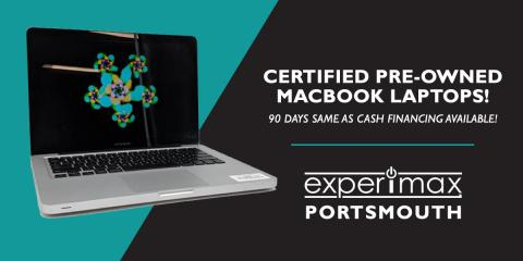 "13"" MacBook Pro 2.3GHz i5 – $1,499 at Experimax Portsmouth, Portsmouth, New Hampshire"