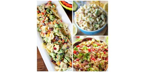 50 Pasta Salad Recipes You Need to Bring to Your Labor Day Cookouts and Picnics!, Wellesley, Massachusetts
