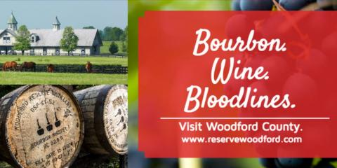 Touring our own backyard with Woodford Charm, Versailles, Kentucky