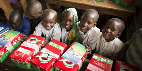 Operation Christmas Child, Greece, New York