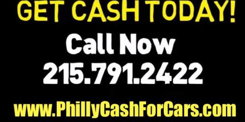 CASH FOR JUNK CARS, Philadelphia, Pennsylvania