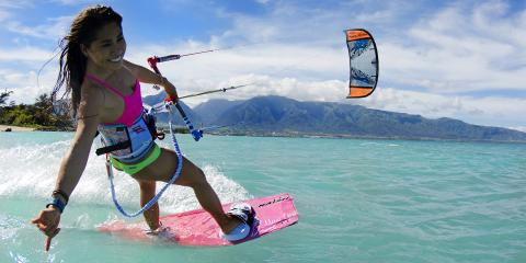 What is the difference between kitesurfing and kiteboarding?, Kahului, Hawaii